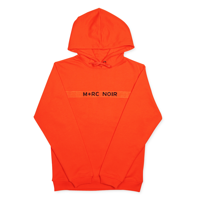 M+RC NOIR ORANGE NEW VELCRO HOODIE-M+RC Noir-CuratedLS