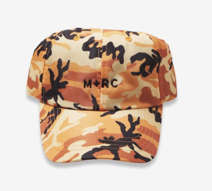 M+RC NOIR RIPSTOP NYLON ORANGE CAMO WITH SILICONE LOGO-M+RC Noir-CuratedLS