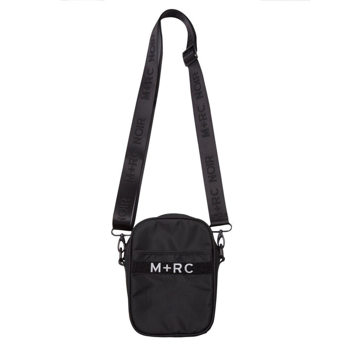 "M+RC NOIR ""RR"" SIDE BLACK REFLECTIVE BAG-M+RC Noir-CuratedLS"
