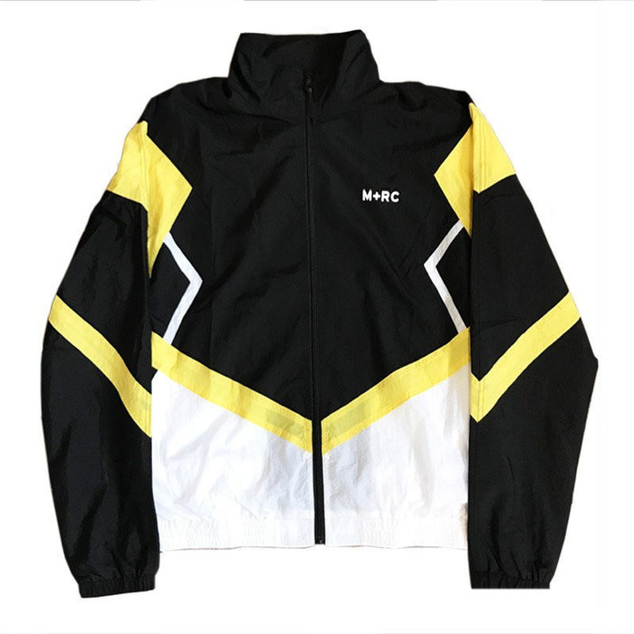 M+RC NOIR O.G TRACKSUIT JACKET BLACK WHITE YELLOW-M+RC Noir-CuratedLS