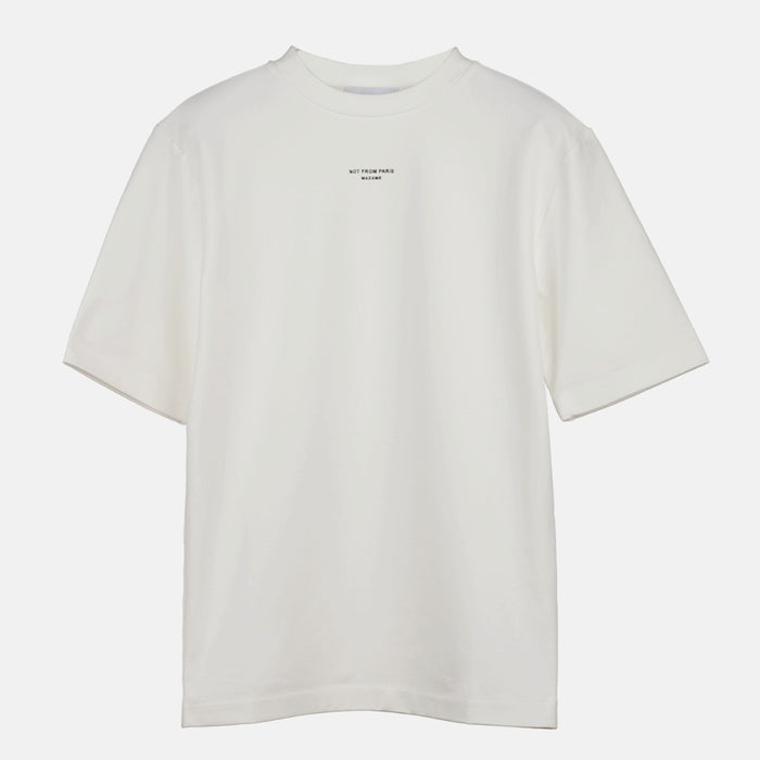 OFF White NFPM Tee-DRÔLE DE MONSIEUR-CuratedLS