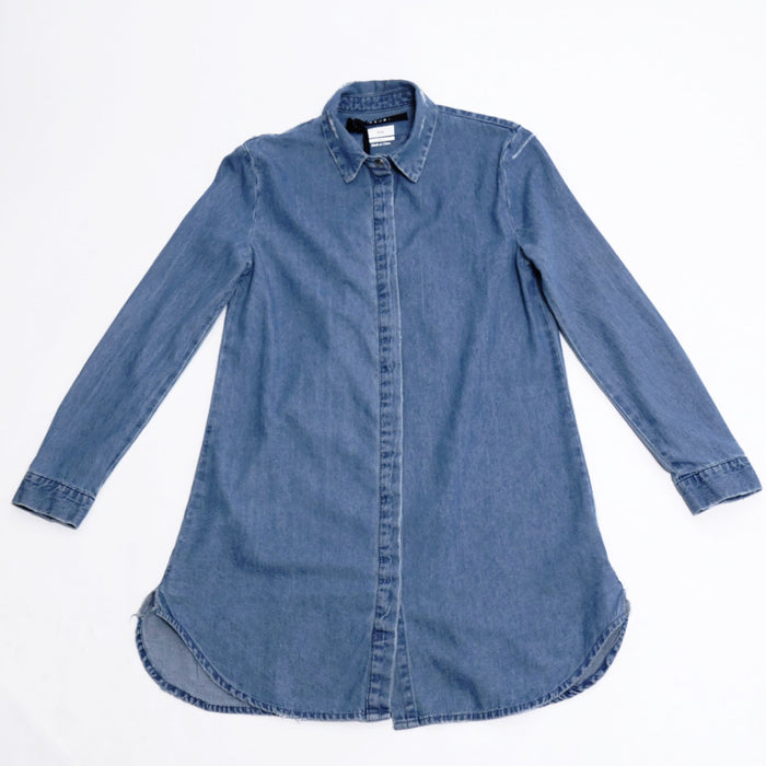 Patti Smith Shirt Blue-Ksubi-CuratedLS