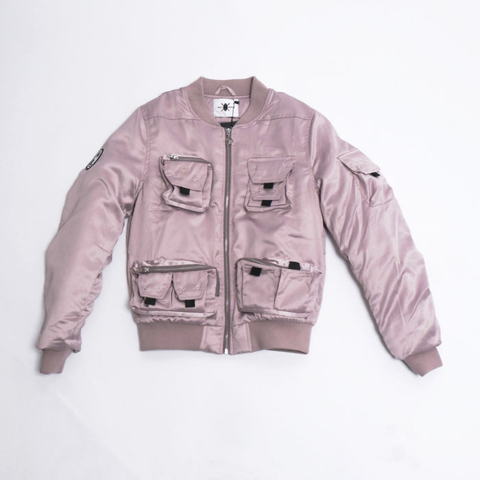 Pink Tiel Bomber Jacket-Daily Paper-CuratedLS