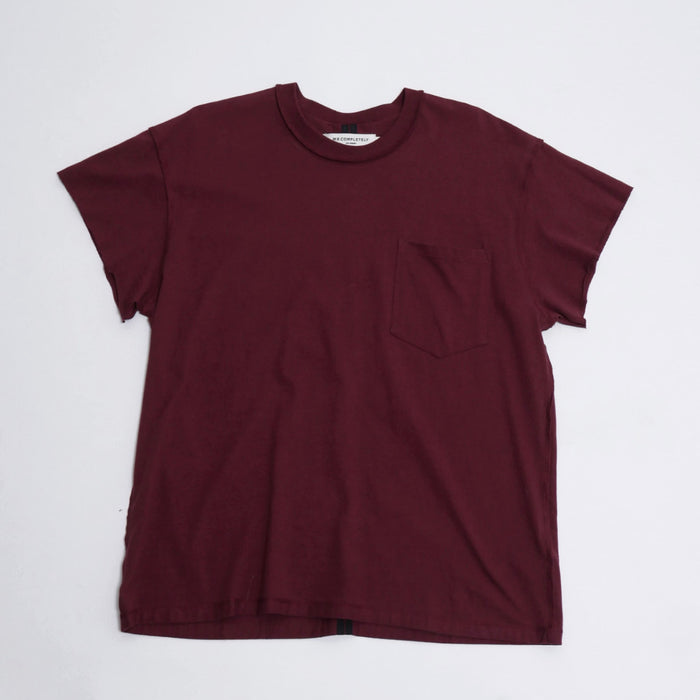 Pocket T in Burgundy-Mr Completely-CuratedLS
