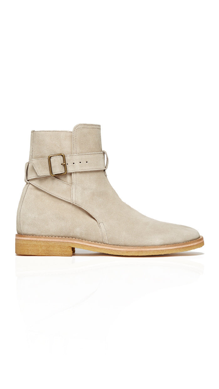 Strapped Chelsea Boots Stone-Represent Clothing UK-CuratedLS