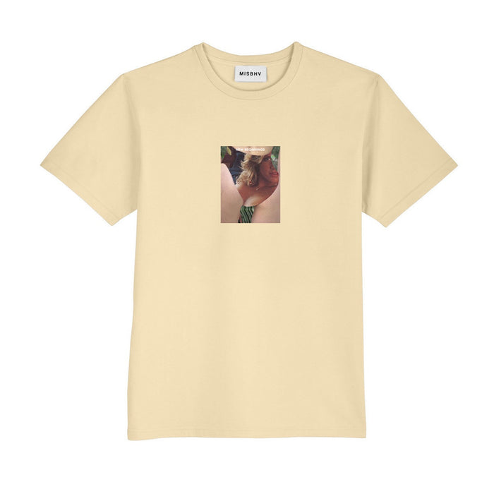 Voyeur Tee in Yellow-MISBHV-CuratedLS