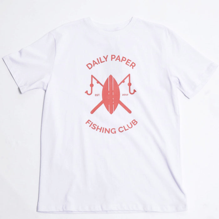 White Fishing Club T-Shirt-Daily Paper-CuratedLS