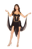 Midnight Goddess 2pc Costume
