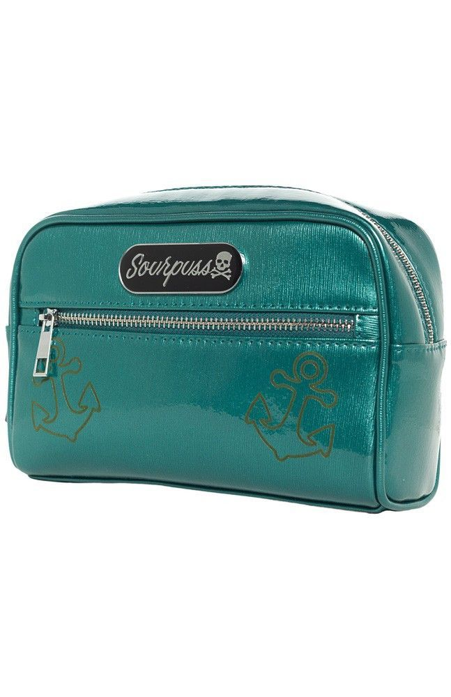 Betsey Anchor Makeup Bag by Sourpuss