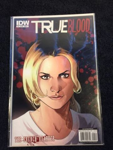 TRUE Blood Comic The French Quarter #4 CVR B