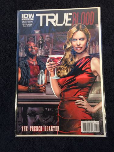 TRUE Blood Comic The French Quarter #4 CVR A