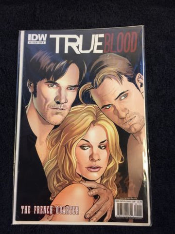TRUE Blood Comic The French Quarter #1 CVR B