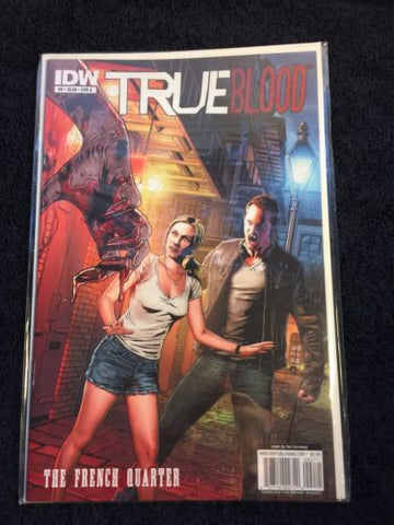 TRUE Blood Comic The French Quarter #2 CVR A