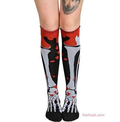 Blood and Bone Knee Socks