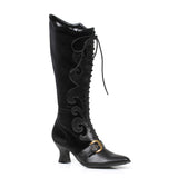 "Fain Victorian Boot with buckle  2.5"" Heel"