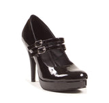 "Jane Double Strap Mary Jane 4"" Heel"
