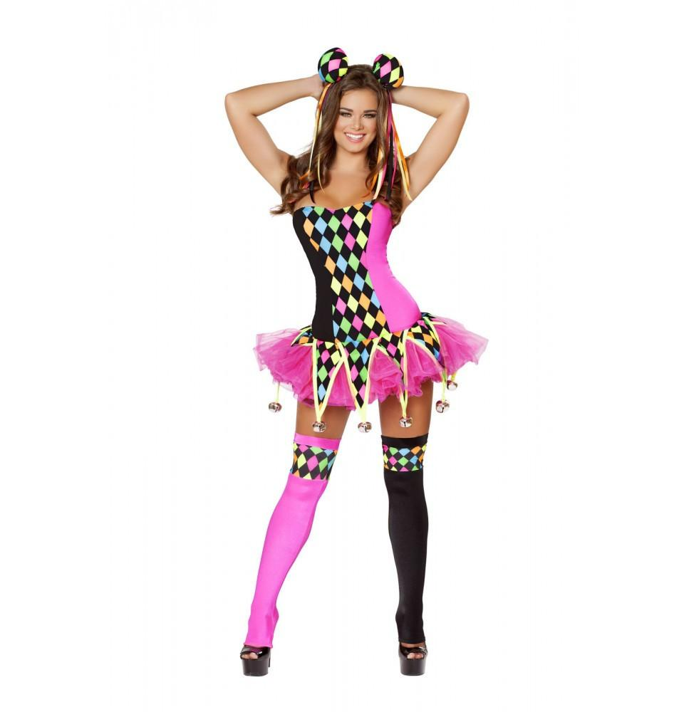 4514 3pc Lusty Laughter Costume - Roma Costume Costumes,2014 Costumes,New Products - 1