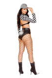 Sassy Racer 3 pc Costume
