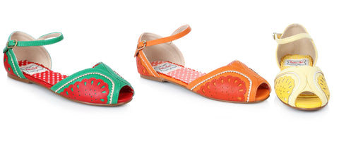 Fruttie Flat Fruit Sandals