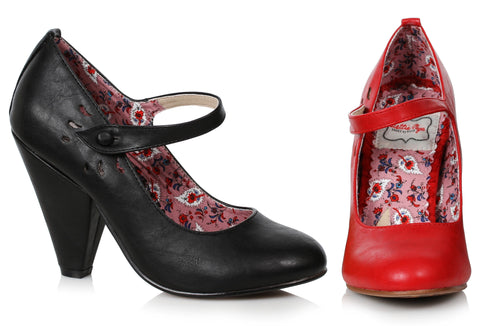 "Allie Retro Maryjane 4"" Heel"