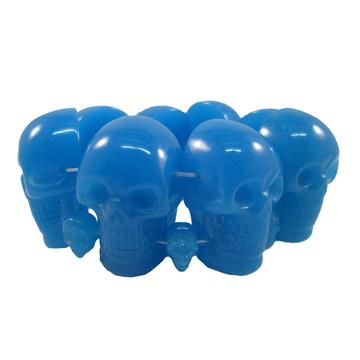 Blue Glow Skull Collection Bracelet