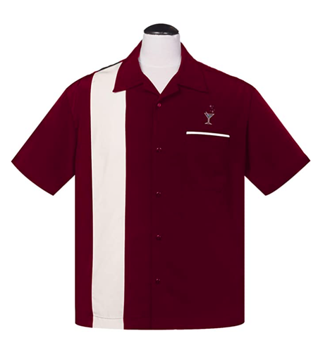 Cocktail Lounge Bowling Shirt