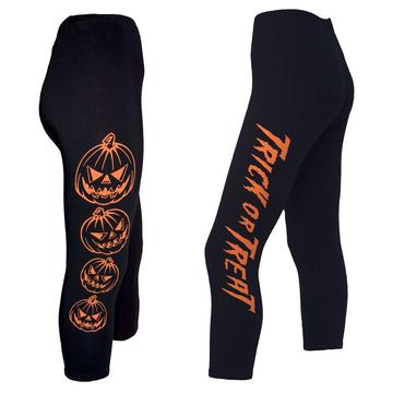 Trick or Treat Pumpkin Capri Leggings