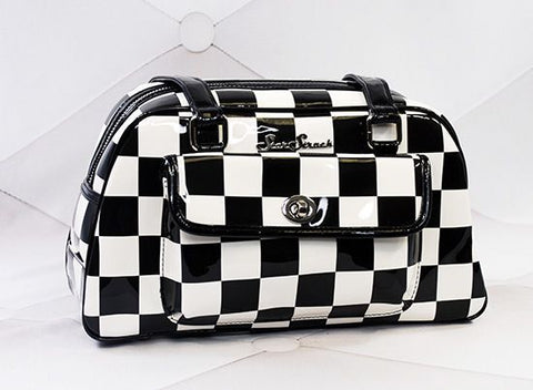 Galaxy Checkerboard Handbag
