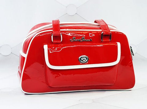 Galaxy Red/White Handbag