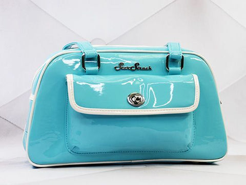 Galaxy Retro Blue/White Handbag