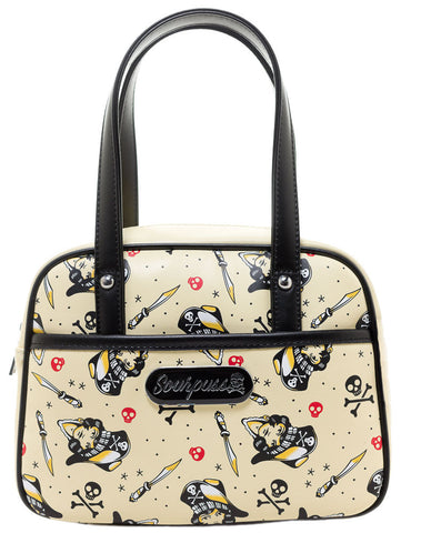 Surly Pirates Mini Bowler Purse by Sourpuss