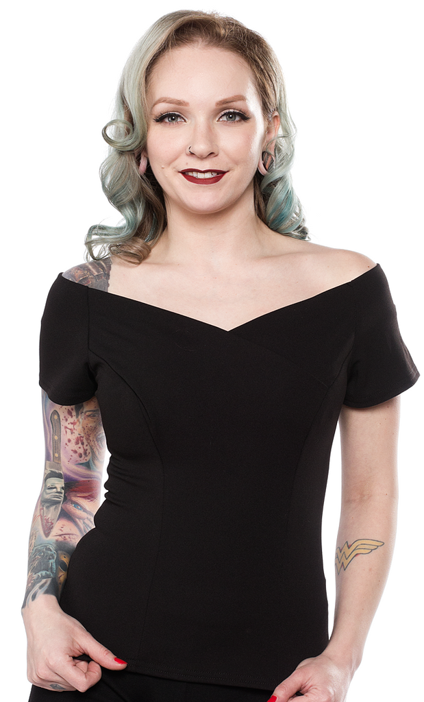 Steady Betty V-Neck Top