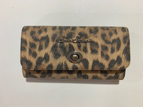 Tri-Fold Wallet - Brown Leopard