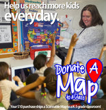 Donate A Map to a Classroom Program