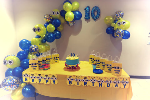 Minion Birthday Party Ryde