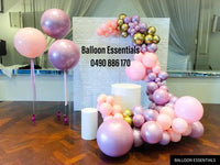 Organic  Balloons Arch - Baby 100 Days  Celebration @Warwick Farm