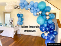 Organic  Balloons Arch - Baby Shower @Seaforth