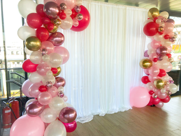 Organic Balloons Arch @ Star Ship Darling Habour