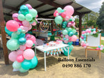 Emilie First Birthday Flamingo Themes