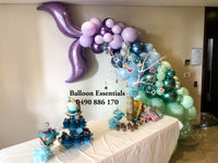 "Organic Balloons Mermaid "" Jocie 10th Birthday """