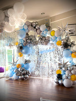 Hugo's 5th Outer Space Organic Style Balloon Garland