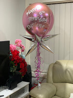 Custome Orbz foil Birthday Party Table Bouquets