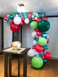 "Organic Balloon Garland ""Christmas Party"""