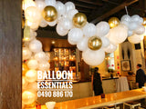 Organic Balloon Arch @ 50th Birthday, Establisment Hotel Sydney