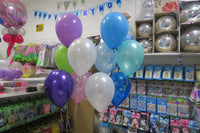 5th birthday foil and 9 helium Balloon Bouquet