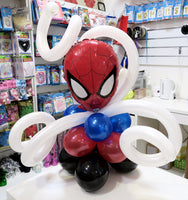 Spiderman table arrangement