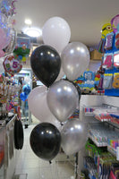 Mickey Foil Shape and 9 Balloon bouquet
