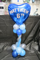 6th birthday table arrangement