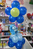 1st birthday topiary balloon arrangement