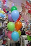 Car Orbz Foil  and 9 Helium balloon Bouquet